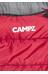 CAMPZ Desert Pro 300 - Sacos de dormir - rojo/negro